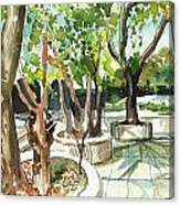 Omkareshwar Pune Canvas Print