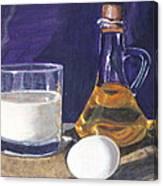 Omlet Canvas Print