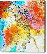 Omoloy River Tributaries Canvas Print
