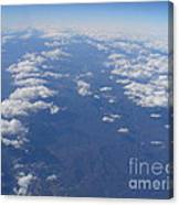 On A Clear Day You Can See Miles Away Canvas Print