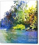 On A Hot Day Canvas Print