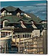 On Boston's Waterfront Canvas Print