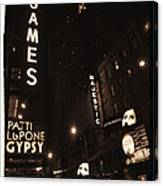 On Broadway Canvas Print