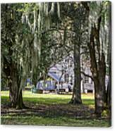 On Destrehan Plantation Canvas Print