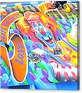 On Pineapple Street Canvas Print