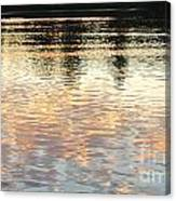 On Shimmering Pond Canvas Print