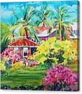 On The Big Island Canvas Print