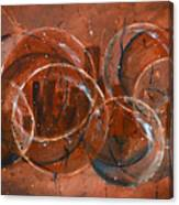 On The Bubble Canvas Print