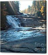 On The Fall Line Canvas Print