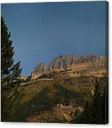 On The Going To The Sun Road  Canvas Print