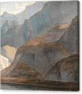 On The Lake Of Como Canvas Print