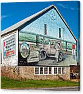 On The Lincoln Highway Canvas Print