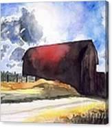 On The Macon Road. - Saline Michigan Canvas Print