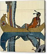 On the Missouri Canvas Print