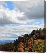 On The Mountain Canvas Print