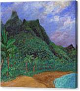 On The North Shore Canvas Print