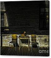 On The Porch Canvas Print