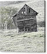 On The Prairie Canvas Print
