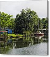 On The River In Baldwin County Alabama Canvas Print