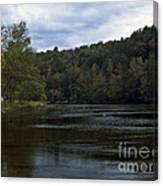 On The River Three Canvas Print