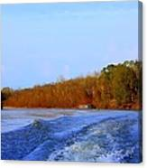 On The Rivers Bend Canvas Print