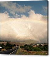 On The Road To Hilo Canvas Print