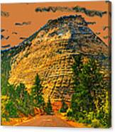 On The Road To Zion Canvas Print