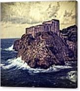 On The Rock - Dubrovnik Canvas Print