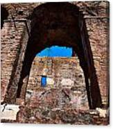 On The Ruins Of An Emipire Canvas Print