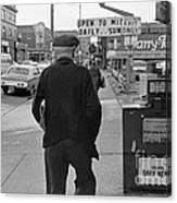 On The Street - Broadway Canvas Print