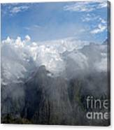 On The Top Of The World... Canvas Print