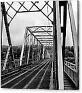 On The Washingtons Crossing Bridge Canvas Print