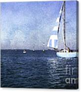 On The Water 3 - Venice Canvas Print