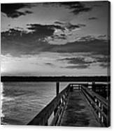 On The Waterfront Canvas Print