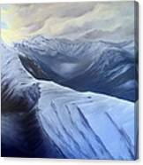 On Top Of The Pass Canvas Print