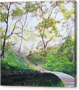 Once Around The Park Canvas Print