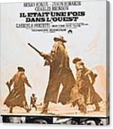 Once Upon A Time In The West, Aka Il Canvas Print