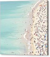 Ondarreta Beach, San Sebastian, Spain Canvas Print