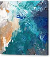 On A Summer Breeze- Contemporary Abstract Art Canvas Print