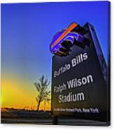 One Bills Drive Canvas Print