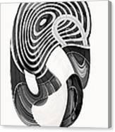One Clean Print - Greyscale  Canvas Print