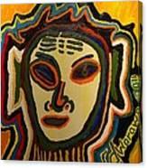 One Eyed Mystery Women Canvas Print