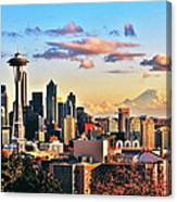 One Fine Skyline Canvas Print