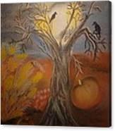 One Hallowed Eve Canvas Print