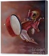 One Man Band Canvas Print