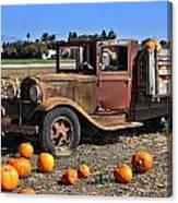 One More Pumpkin Canvas Print