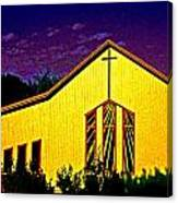 One Of Many Doors . . . Of The Lord Canvas Print