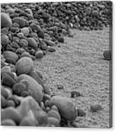 One Pebble Many Pebbles Canvas Print
