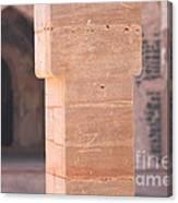One Pillar  Canvas Print