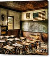One Room School Canvas Print